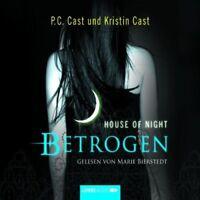 MARIE BIERSTEDT - HOUSE OF NIGHT-BETROGEN (TEIL 2) 4 CD NEU CAST,P.C. & CAST