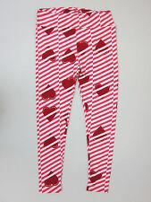 LuLaRoe Striped Heart Leggings - Womens T&C Tall & Curvy - NWT