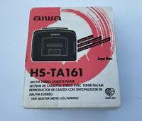 WALKMAN AIWA HS-TA161 - AM/FM  - Stereo Cassette Player - Brand New!