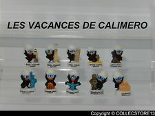 SERIE COMPLETE DE FEVES  LES VACANCES DE CALIMERO    2019