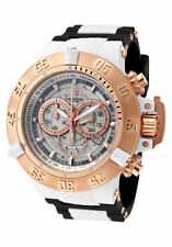 InvictA Men's 0931 Anatomic Subaqua ROSE Gold Swiss  Ret$1995 NEW