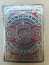 High Victorian Red by THEORY 11 Playing Cards - COLLECTIBLE CARD DECK [NEW]