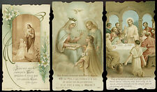 lotto santini-holy cards lot-lot images pieuses-konvolut heiligenbildichen 2482