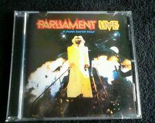 PARLIAMENT LIVE - P. FUNK EARTH TOUR ALBUM CD.