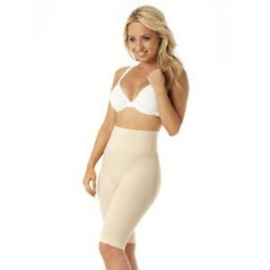 JML Belvia Shapewear Slimming Shorts - Beige - Size Medium UK 14-16 - BRAND NEW