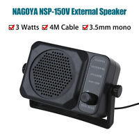 Nagoya NSP 150V External SPEAKER For Ham CB Communication 2 way Radio 3.5mm Jack