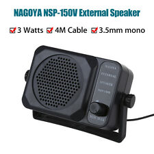 Nagoya NSP 150V Car External Speaker for Yaesu Kenwood Icom Radio 3.5mm Jack New