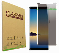 Full Cover Anti-Spy Privacy 3D Tempered Glass Screen Protector For Galaxy Note 8