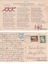 """# BOLOGNA:  """"RISTORANTE CHIANTI""""   1931 - TESTATINA"""