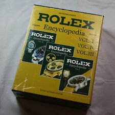 Collectible Guido Mondani Editore 3 Vol Rolex Encyclopedia English/Italian NEW
