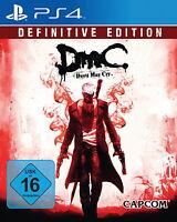 DmC - Devil May Cry -- Definitive Edition (Sony PlayStation 4, 2015, DVD-Box)