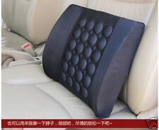 Car DC 12V Back Seat Electric Lumbar Massage Cushion Vibrating Waist Pad