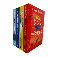 Ross Welford 4 Books Collection Series Set (The Dog Who Saved the World) NEW
