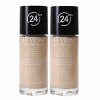2 X REVLON COLORSTAY FOUNDATION 24 HR WEAR MAKEUP ❤ 150 BUFF ❤ OILY/COMBINATION