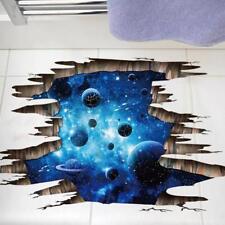 Wall Sticker 3d Space Galaxy Art Decal Decor Home Mural Vinyl Outer Planet Moon
