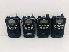 Globe Roamer Uniden UH-078SX UHF CB Portable Radios Bulk Lot of 4