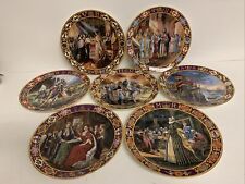 Royal Doulton 7x Collector Plates Kings And Queens Of The Realm  #H1