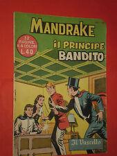 MANDRAKE EDIZIONI IL VASCELLO-N°15 DEL 1959- EDIZIONI SPADA RARO-NO SUPER ALBO