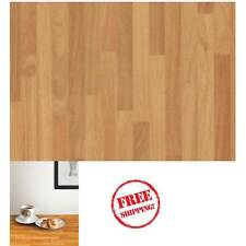 NEW DIY Kitchen Worktop Butcher Block Vinyl Cover Self Adhesive Sticky Back Wrap