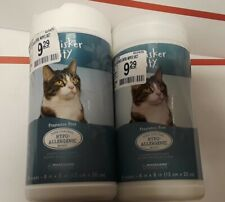 ✔Whisker City �Shed Control Hypo Allergenic Cat Wipes Bundle (2 Canisters)✔