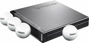 Lenovo ThinkCentre M53Tiny PC Quad Core Intel CPU 4GB RAM 120GB SSD Win-10 Wi-Fi