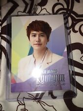 Super Junior Kyuhyun Smtown Live World your official Photocard card Kpop K-pop