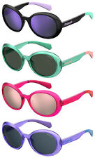 Polaroid Kids PLD8033/S Girls Round / Oval sunglasses with Polarized lens