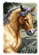 Vervaco Knüpfteppich Tiermotiv Pferd 45x70 cm  KKPN0150907