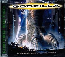 "David Arnold ""GODZILLA""(1998) score 3000 Limited LaLaLand 2CD SEALED"