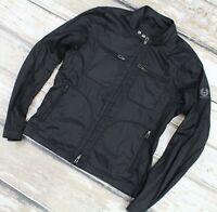 BELSTAFF WOODBURN Light Coated Cotton Army Black Summer Jacket 52 Canada