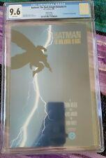 BATMAN: THE DARK KNIGHT RETURNS #1 CGC 9.6 White Pages Third Printing 🔥🔥🔥