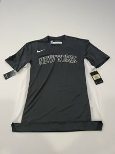 Nike NBA Dri-Fit New York Knicks Engineered Shooting Shirt AV0941-060 Size Small