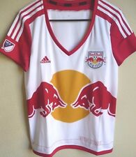 Women's MLS Adidas New York Red Bulls Replica Primary Soccer Jersey L NWT