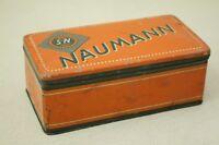 alte Blechdose Werbung - Naumann S&N