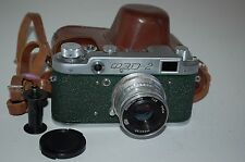 Fed-2, Type B4, Genuine Green Version Soviet Rangefinder Camera. 473181. UK Sale