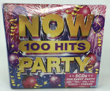 Now 100 Hits Party  - New & Sealed 5 CD Set