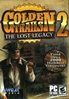 Golden Trails 2 PC Games Window 10 8 7 XP Computer hidden object seek & find NEW