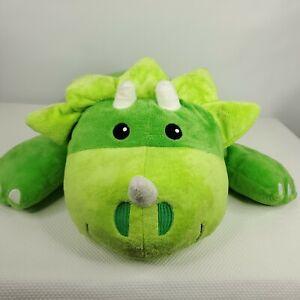 Melissa & Doug Cuddle Dinosaur Jumbo Plush Stuffed Animal Pillow Triceratops