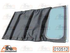 CAPOTE COTON noire NEUVE fermeture intérieur (SOFT TOP) pour Citroen 2CV -10512-