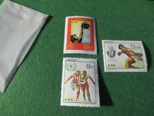 Paraguay 1994 Olympics Sports Games Basketball Football/Soccer Tennis #2469-71
