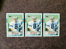 (1) 1989 Topps Troy Aikman rookie #70T - Dallas Cowboys Legend - Pick 1