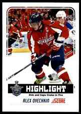 2012-13 Score Gold Alex Ovechkin #488