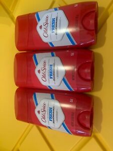6 X Old Spice Fresh High Endurance Deodorant 3 oz ounce LOT OF SIX 6