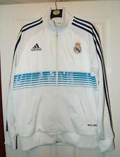 Real Madrid Adidas Tracksuit Top - Adults Large - Football Training Jacket