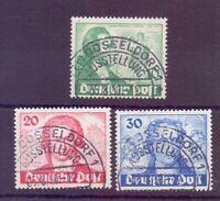 Berlin 1949 - Goethe - MiNr. 61/63 rund gestempelt - Michel 180,00 € (786)
