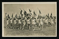 Germany Real Picture Postcard German 3rd Reich Youth Sports Festival RPPC 1933