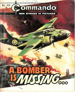 COMMANDO COMIC - No 958 A BOMBER IS MISSING...