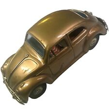 Vintage Bandai Friction VW Bug B Sign of Quality Made In Japan Tin Toy Vehicle