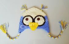 *Free Shipping* Owl Hat Crochet Handmade for kid Good Detailed, winter hats