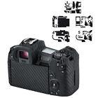 Anti-Scratch Carbon Fiber Camera Body Film Cover Protector for Canon EOS R